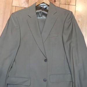 Men's ZARA MAN Khaki Suit